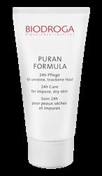 Bild von Biodroga Puran Formula 24-h - Pflege für unreine, trockene Haut 40ml
