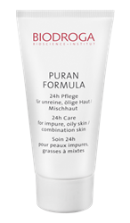 Bild von Biodroga Puran Formula 24-h - Pflege für unreine, fettige Haut / Mischhaut 40ml