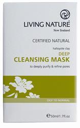 Bild von Living Nature - Tief Wirkende Reinigungsmaske - 50 ml