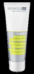 Bild von Biodroga MD - Clear+ - 24h Pflege - für unreine Mischhaut - 75 ml
