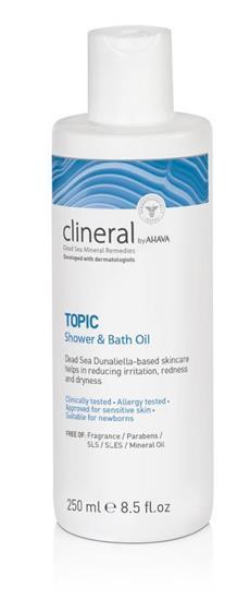 Bild von Clineral Topic Dusch- & Badeöl 250 ml