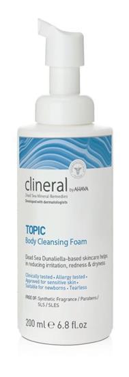 Bild von Clineral Topic Reinigender Körperschaum 200 ml