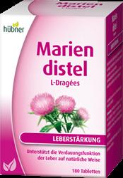Bild von Hübner Mariendistel L-Dragées 180 Stück