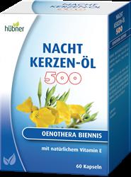 Bild von Hübner Nachtkerzen-Öl Kapseln 500 mg 60 Stück