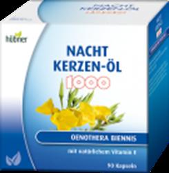 Bild von Hübner Nachtkerzen-Öl Kapseln 1000 mg 90 Stück