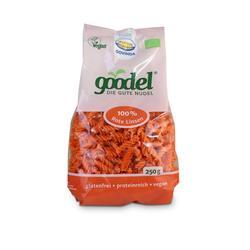 Bild von Govinda - Goodel / Die Gute Nudel - Bio Rote Linsen-Nudeln - 250g