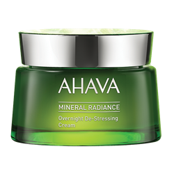 Bild von Ahava - Mineral Radiance - Overnight De-Stressing Cream - 50 ml