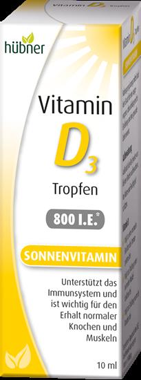 Bild von Hübner - Vitamin D3 Tropfen - 10 ml