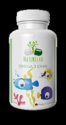 Bild von NaturElan - Omega 3 (DHA) - Omega-3-Fettsäuren Für Kinder - 60 Kau-Kapseln