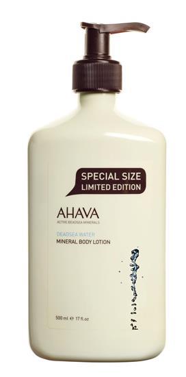 Bild von Ahava - Deadsea Water - Mineral Body Lotion 500ml - Limited Edition