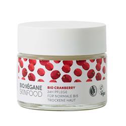 Bild von Bio:Végane - Bio Cranberry - 24h Pflege - Normale Bis Trockene Haut - 50 ml