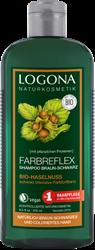 Bild von Logona - Farbreflex Shampoo Braun-Schwarz - Bio-Haselnuss - 250 ml