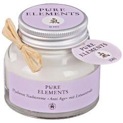 Bild von Pure Elements - Chi Anti Age - Hyaluron Nachtcreme - Mit Lotusextrakt - 50 ml