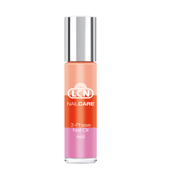 Bild von LCN - NailCare - 3-Phase Nail Oil - Red - 10 ml
