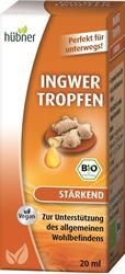 Bild von Hübner - Ingwer Tropfen - 20 ml