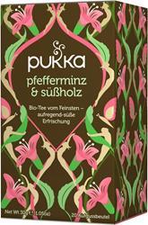 Bild von Pukka - Pfefferminz & Süßholz - bio - 20 Aufgussbeutel