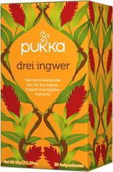 Bild von Pukka - Drei Ingwer Tee - bio - 20 Aufgussbeutel