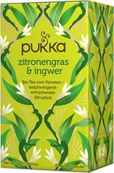 Bild von Pukka - Zitronengras & Ingwer Tee - bio - 20 Aufgussbeutel