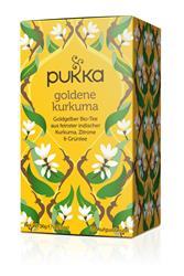 Bild von Pukka - Goldene Kurkuma Tee - bio - 20 Aufgussbeutel