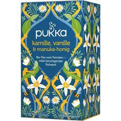 Bild von Pukka - Kamille, Vanille & Manuka-Honig - bio - 20 Aufgussbeutel