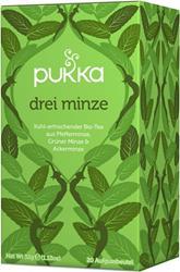 Bild von Pukka - Drei Minze Tee - bio - 20 Aufgussbeutel