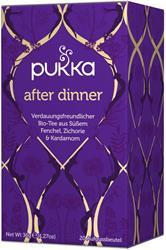 Bild von Pukka - After Dinner Tee - bio - 20 Aufgussbeutel