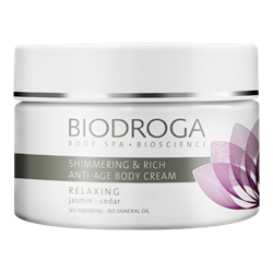 Bild von Biodroga - Relaxing - Shimmering & Rich Anti-Age Body Cream - 200 ml