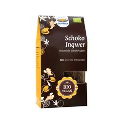 Bild von Govinda - Schoko Ingwer - Natursüße Schokokugeln - Bio - 120 g