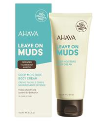 Bild von Ahava - Leave On Muds - Deep Moisture Body Cream - 100 ml