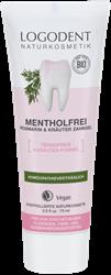 Bild von Logodent - Mentholfrei -  Kräuterzahngel Rosmarin-Salbei - 75 ml