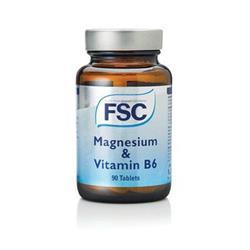 Bild von FSC - Magnesium & Vitamin B6 - 90 Tabletten