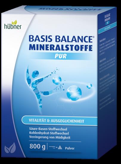 Bild von Hübner - Basis Balance® - Mineralstoffe Pur - Pulver