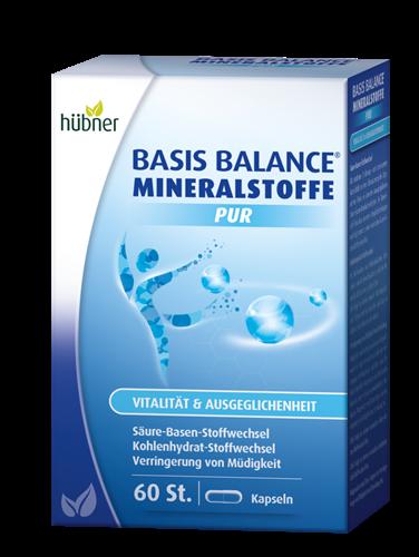 Bild von Hübner - Basis Balance® - Mineralstoffe Pur - 60 Kapseln