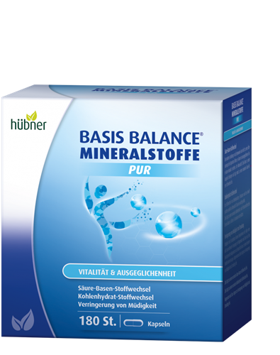 Bild von Hübner - Basis Balance® - Mineralstoffe Pur - 180 Kapseln
