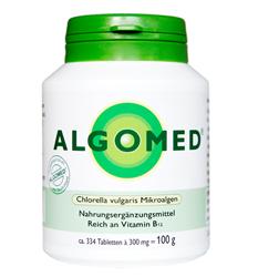 Bild von Algomed® Chlorella - Chlorella vulgaris Mikroalgen Tabletten