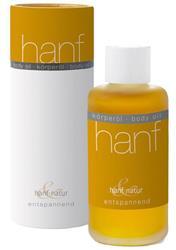 Bild von Hanf & Natur - Körperöl Lavendel & Jojobaöl - Entspannend - Bio - 100 ml