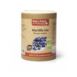 Bild von Nat & Form - Bio- Blueberry - 200 Kapseln
