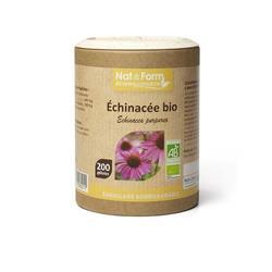 Bild von Nat & Form - Bio Echinacea - 200 Kapseln
