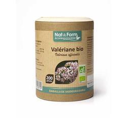 Bild von Nat & Form - Bio Baldrian - 200 Kapseln