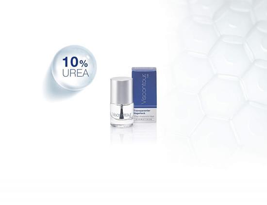 Bild von Viscontour® Nail - Transparenter Nagellack für strapazierte Nägel - 6 ml