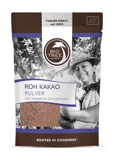 Bild von Big Tree Farms - Roh Kakao Pulver - 110 g