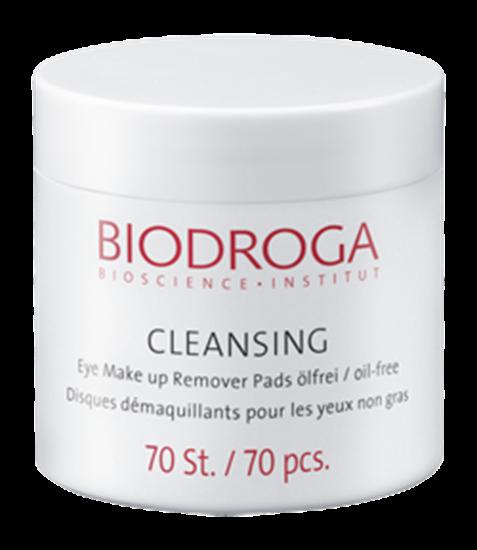 Bild von Biodroga - Cleansing Eye Make Up Remover Pads - Ölfrei -  70 Stück