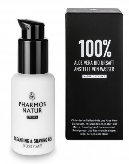 Bild von Pharmos Natur - Nature Of Men - Cleansing & Shaving Gel - 50 ml