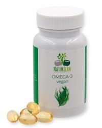 Bild von NaturElan - Omega 3 Algenöl - Vegan - 60 Kapseln