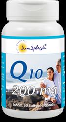 Bild von SunSplash - Q10 200 mg - 60 Softgel-Kapseln