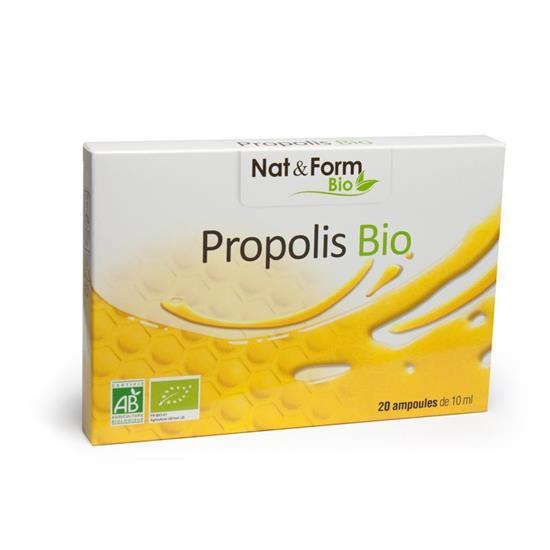 Bild von Nat & Form - Bio Propolis - 20 Trinkampullen