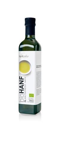 Bild von Hanf & Natur - Hanföl - Bio - 500 ml
