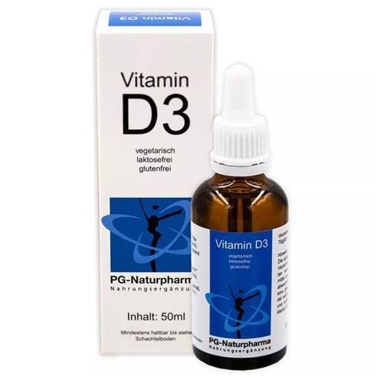 Bild von PG-Naturpharma - Vitamin D3 Tropfen mit MCT-Öl - 50 ml