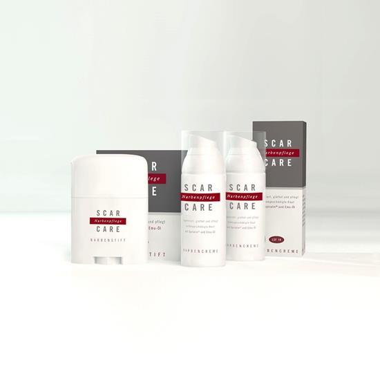 Bild von Scarcare® - Aktiv-Set - Narbencreme & Narbenstift - 3-teiliges Set