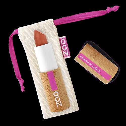 Bild von Zao - Bambus Pearly Lipstick - Nr. 407 / Copper - 3,5 g